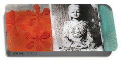 Namaste Portable Battery Charger by Linda Woods