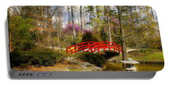 A Bridge To Spring Portable Battery Charger by Benanne Stiens
