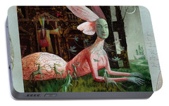 A Midsummer Night's Dream Portable Battery Charger by Victoria Fomina