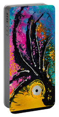 A Rare Bird - Tropical Parrot Art By Sharon Cummings Portable Battery Charger by Sharon Cummings