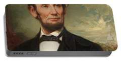 Abraham Lincoln  Portable Battery Charger by George Henry Story