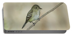 Acadian Flycatcher Portable Battery Charger by Anthony Mercieca