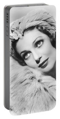 Actress Loretta Young Portable Battery Charger by Underwood Archives