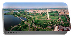 Aerial Washington Dc Usa Portable Battery Charger by Panoramic Images