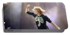 Aerosmith-steven Tyler-00193 Portable Battery Charger by Gary Gingrich Galleries
