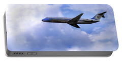 Air Force One - Mcdonnell Douglas - Dc-9 Portable Battery Charger by Jason Politte