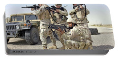 Portable Battery Charger featuring the photograph Air Force Squadron by Science Source