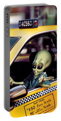 Alien Cab Portable Battery Charger by Steve Read