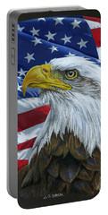 American Eagle Portable Battery Charger by Sarah Batalka