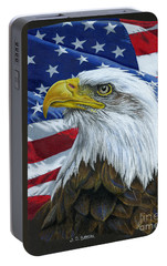 American Eagle Portable Battery Charger by Sarah Batalka