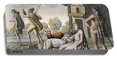 Ancient Gauls, C.1800-18 Portable Battery Charger by Italian School