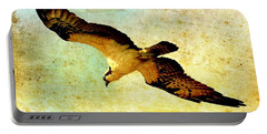 Ancient Hunter Portable Battery Charger by Carol Groenen