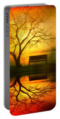 And I Will Wait For You Until The Sun Goes Down Portable Battery Charger by Tara Turner