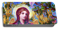 Angel Love Portable Battery Charger by Jane Small