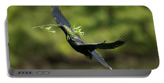 Anhinga Portable Battery Charger by Anthony Mercieca