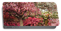 Apple Blossoms Portable Battery Charger by Joe Mamer