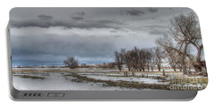 Portable Battery Charger featuring the photograph Ardmore Prairie by Bill Gabbert