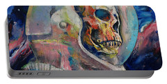 Astronaut Portable Battery Charger by Michael Creese