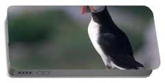 Atlantic Puffin Portable Battery Charger by Art Wolfe