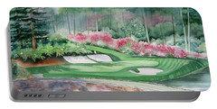 Augusta National 12th Hole Portable Battery Charger by Deborah Ronglien