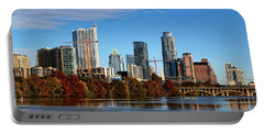Autumn In Austin Portable Battery Charger by Judy Vincent
