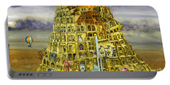 Babel Portable Battery Charger by Colin Thompson