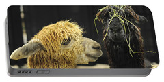 Bad Hair Day Farm Show Harrisburg Pa Portable Battery Charger by Terry DeLuco