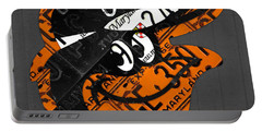 Baltimore Orioles Vintage Baseball Logo License Plate Art Portable Battery Charger by Design Turnpike