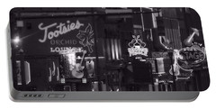 Bars On Broadway Nashville Portable Battery Charger by Dan Sproul