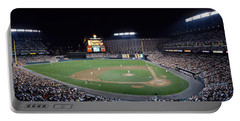 Baseball Game Camden Yards Baltimore Md Portable Battery Charger by Panoramic Images