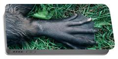 Beaver Foot Portable Battery Charger by Stephen J Krasemann