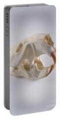 Beaver Skull Portable Battery Charger by Barbara Strnadova
