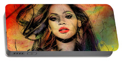Beyonce Portable Battery Charger by Mark Ashkenazi