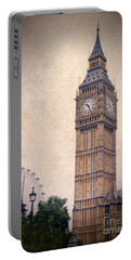 Big Ben In London Portable Battery Charger by Jill Battaglia