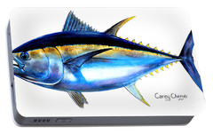 Big Eye Tuna Portable Battery Charger by Carey Chen