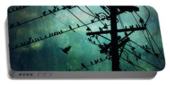 Bird City Portable Battery Charger by Trish Mistric