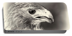 Bird Of Prey Portable Battery Charger by Dan Sproul