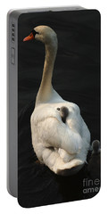 Birds Of A Feather Stick Together Portable Battery Charger by Bob Christopher
