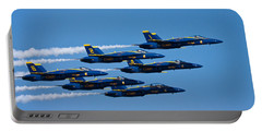 Blue Angels Portable Battery Charger by Adam Romanowicz