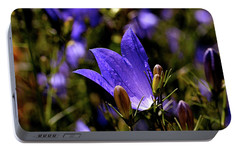 Bluebell Portable Battery Charger by Rona Black