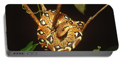 Boa Constrictor Portable Battery Charger by Art Wolfe