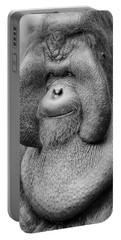 Bornean Orangutan IIi Portable Battery Charger by Lourry Legarde