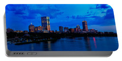 Boston Evening Portable Battery Charger by Rick Berk