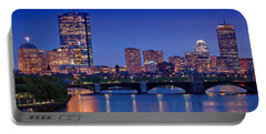 Boston Nights 2 Portable Battery Charger by Joann Vitali