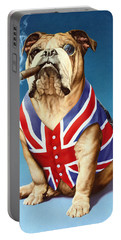 British Bulldog Portable Battery Charger by Andrew Farley