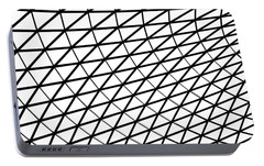 British Museum Geometry Portable Battery Charger by Rona Black