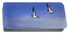 Brown Booby Portable Battery Charger by James L. Amos