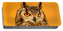 Bubo Bubo Portable Battery Charger by Roeselien Raimond