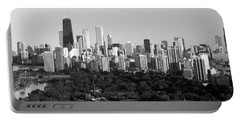 Buildings In A City, View Of Hancock Portable Battery Charger by Panoramic Images
