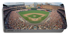 Camden Yards Baltimore Md Portable Battery Charger by Panoramic Images